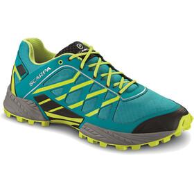 Scarpa Neutron - Chaussures running Homme - vert/turquoise